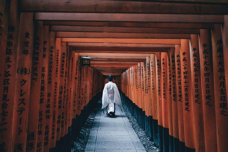 Belleza de japon foto 1