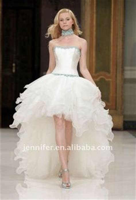 1000  images about short front long back wedding dress on