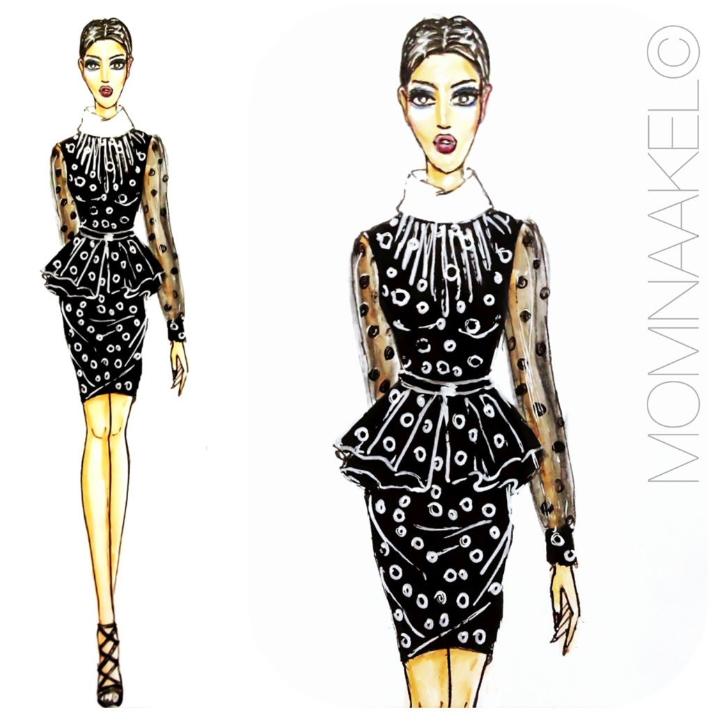 Fashion All The Time How To Draw Fashion Designs