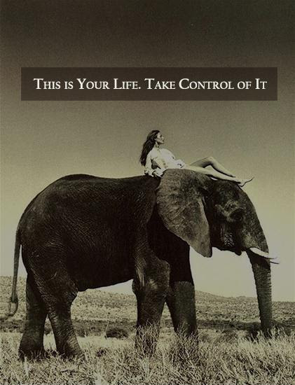 This Is Your Life Take Control Of It Picture Quotes