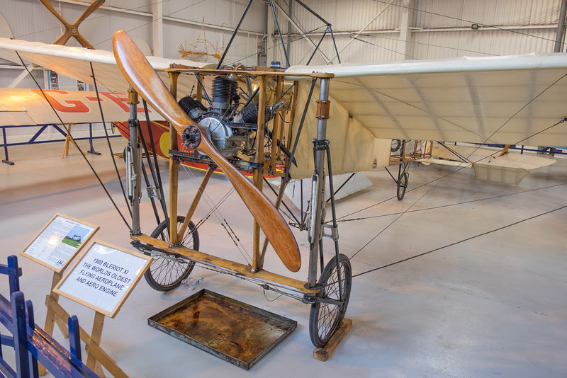 1909 Bleriot XI Worlds oldest flying aeroplane