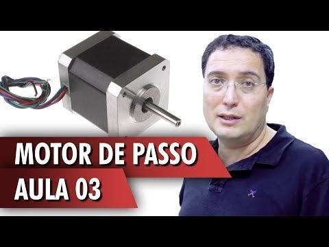"""Estendendo o poder de controle do """"servo motor de passo"""" + arduino = Aula 3"""