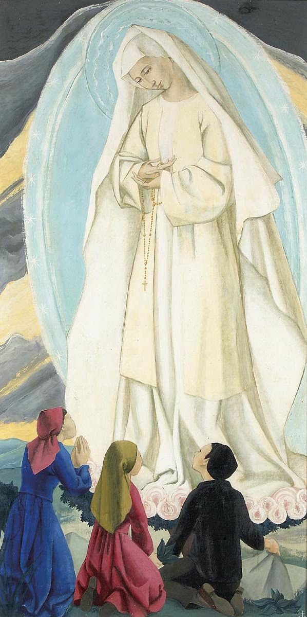 Our Lady of Fatima by Sr Mary of the Compassion