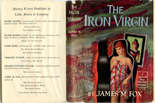The Iron Virgin_James M. Fox_tatteredandlost