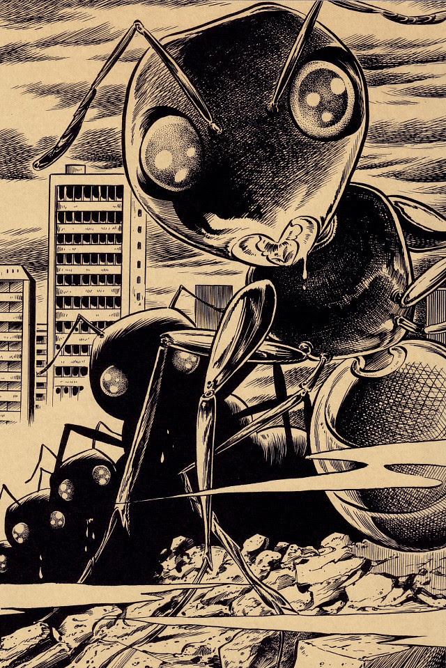 Tatsuya Morino - Empire of the Ants - H.G. Wells, 1905