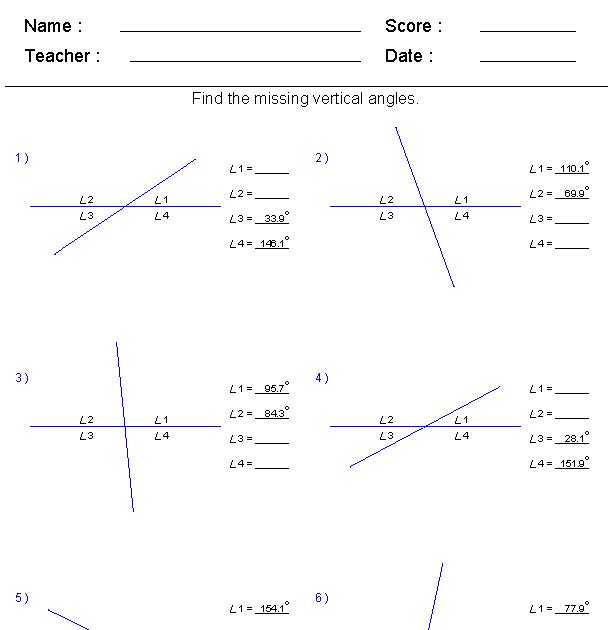Geometry Segment Addition Postulate Worksheet Answers ...