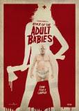 ATTACK OF THE ADULT BABIES: une affiche croquignolette pour la comédie horrifique au pitch fou