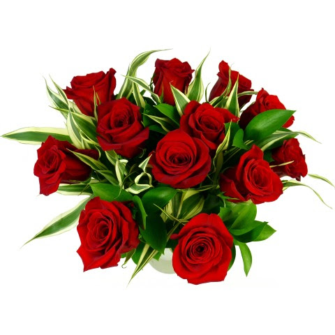 Deluxe Red Rose Bouquet 12 Rose Bouquet Free Uk Delivery Post