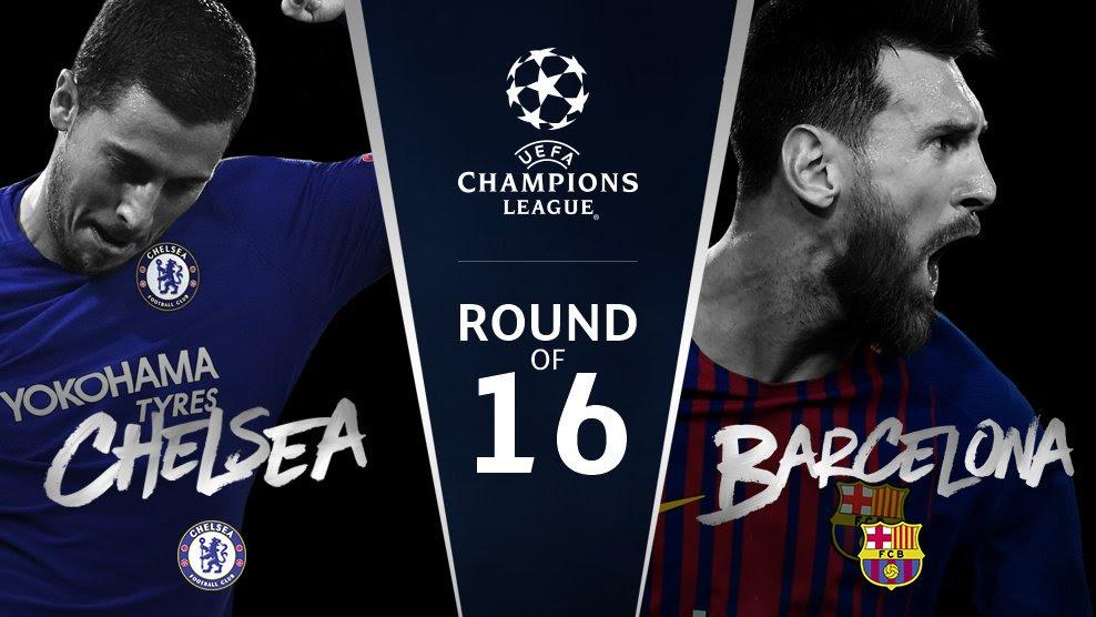 مشاهدة مباراة برشلونة و تشيلسي بث مباشر - دوري أبطال أوروبا