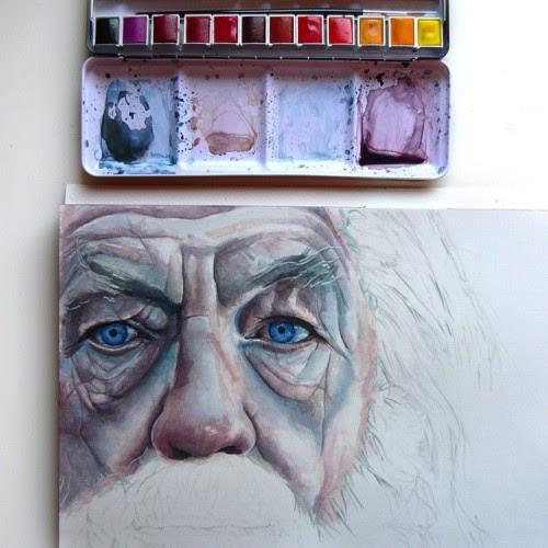 Gandalf by Joanna Wedrychowska