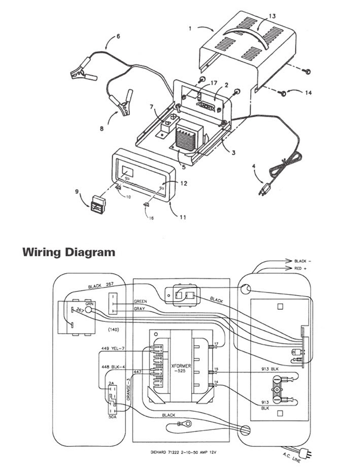 32 Schumacher Battery Charger Se 82 6 Wiring Diagram - Free Wiring Diagram  Source | Battery Charger Wiring Schematic |  | Free Wiring Diagram Source