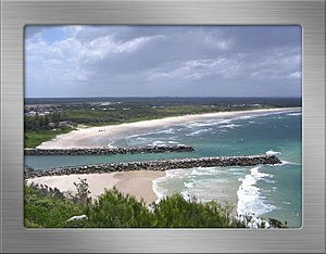 Photo taken in 2005 of Main Beach Evans Head f...