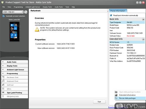 Nokia Care Suite - ภาพหน้าจอ 1