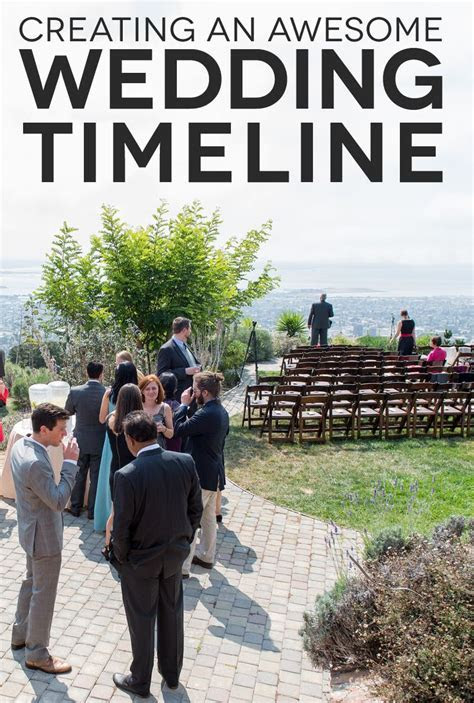 A Complete Wedding Timeline, Six Ways   One day In