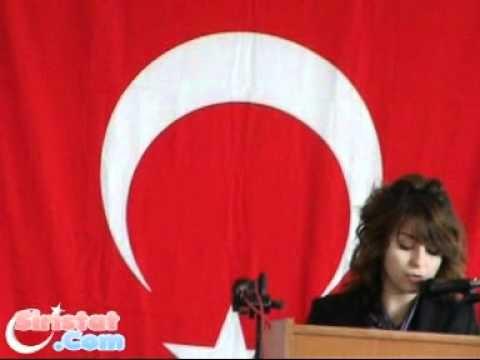 Atatürk İlköğretim okulu Ana Sınıfı Öğretmeni Merve Akkuş'un Konuşması