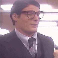 Christopher Reeve as Clark Kent