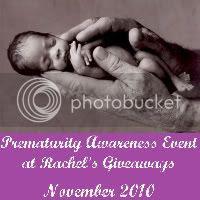 Prematurity Awareness Event at Rachel's Giveaways