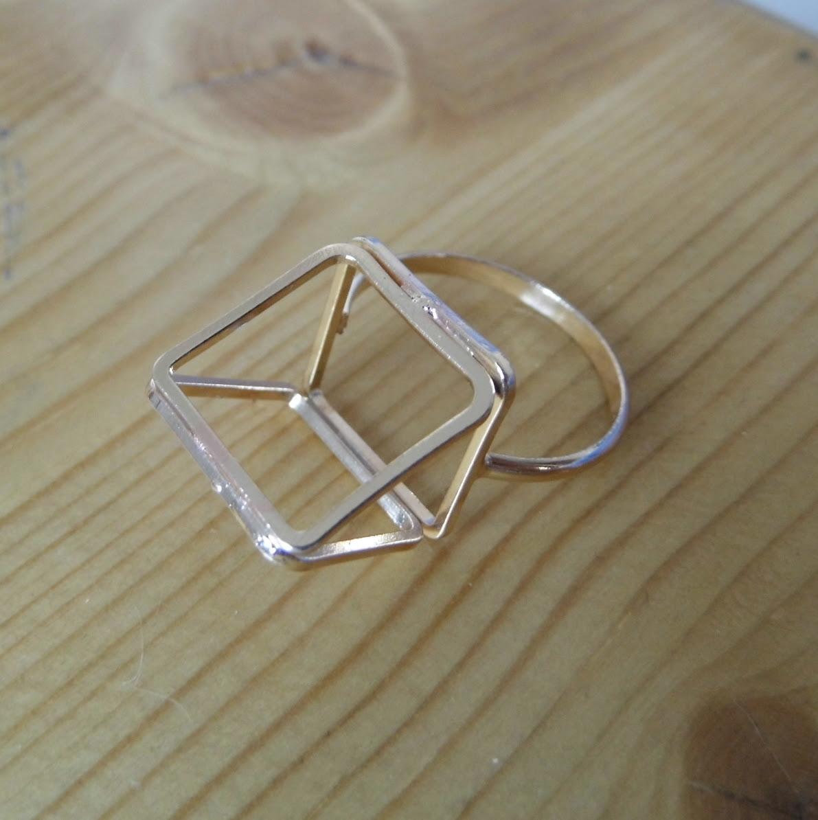 Topshop Pyramid Ring