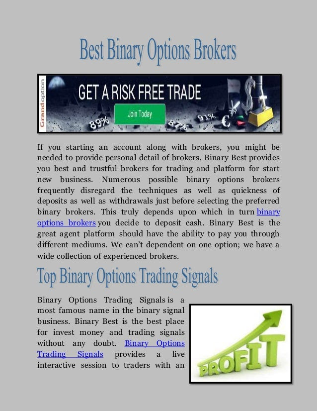 best binary options to trade today