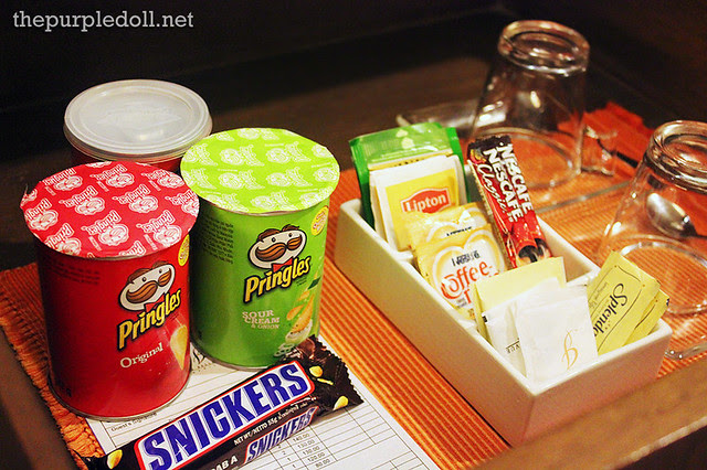 Bellevue Manila Snacks, Tea and Coffee