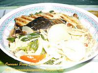 Dinengdeng, Saluyot at Labong