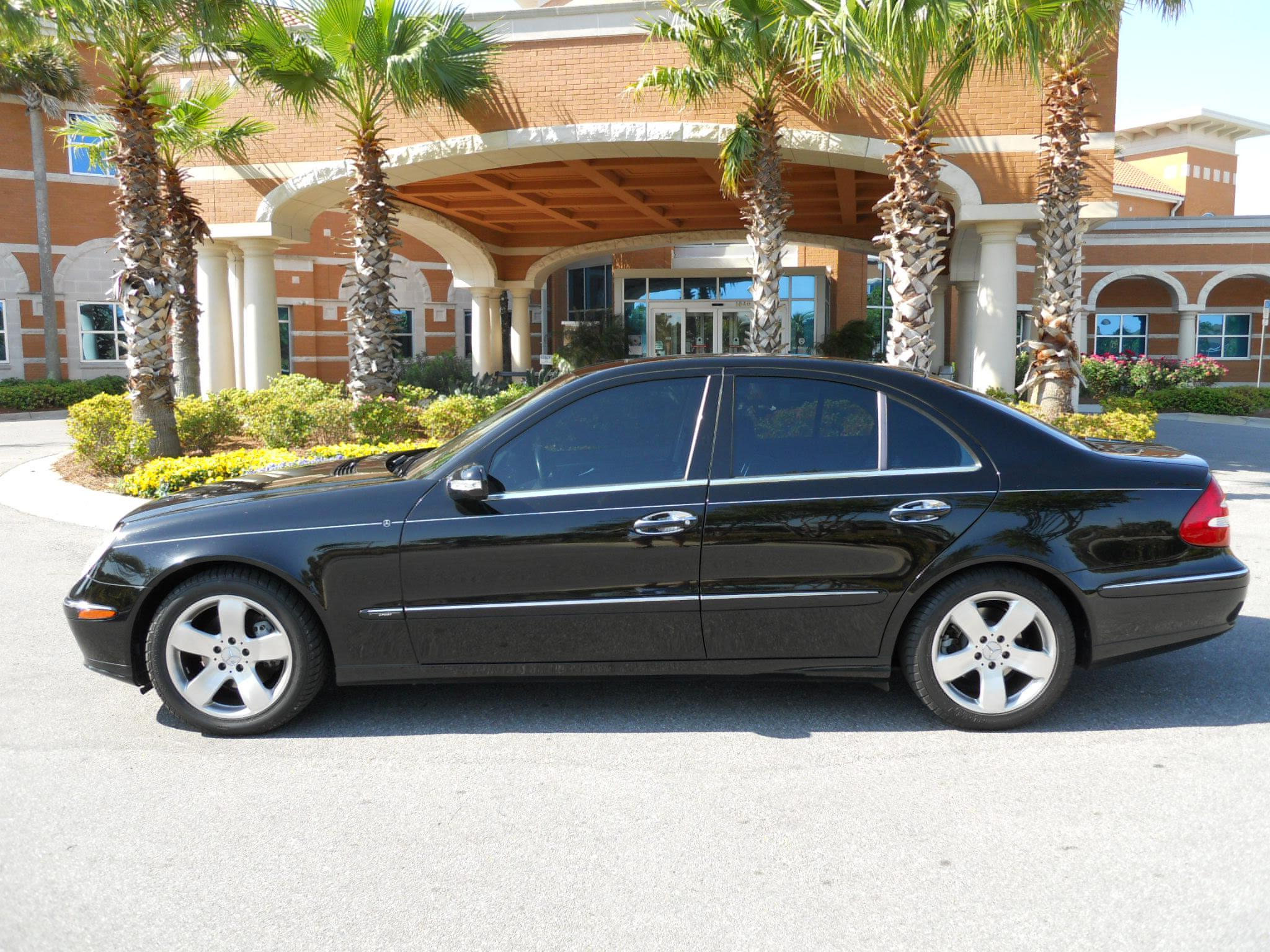 2003 E500 Mercedes Benz, blk/blk, very nice ride - The ...