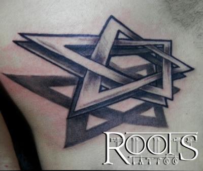 Tatuaje Esttella De David 3d Roots Tattoo Granada