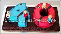 Cooking In Melbourne: Star Trek Cakes for Llyod