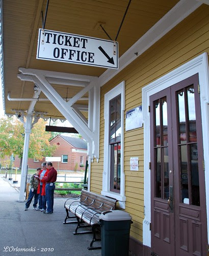 Entrance to Ticket Office