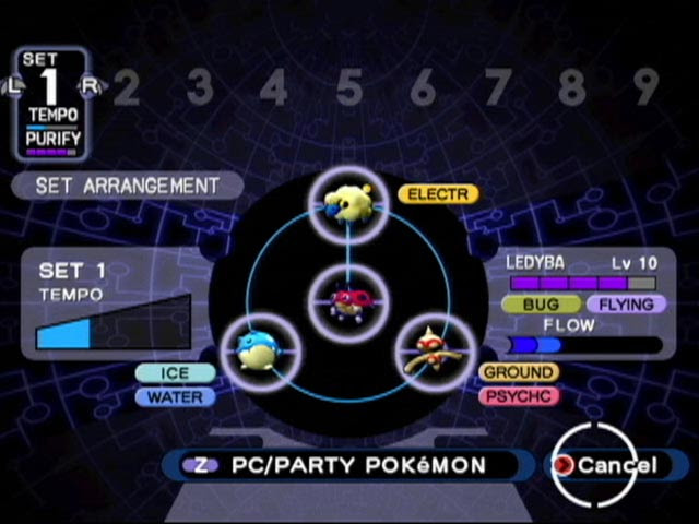 Purifying Shadow Pokemon was much easier in this game.