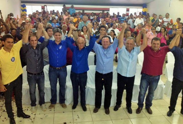 Sob aplausos e e gritos de incentivo, Biné Figueiredo filia-se e agrega forças ao PSDB em Codó.