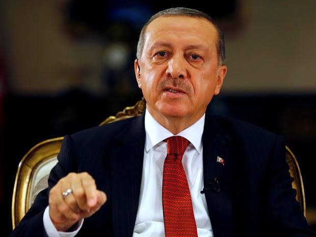Tayyip Erdogan, presidente da Turquia (Foto: REUTERS/Umit Bektas)