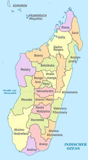 Templatemadagascar Imagemap Location Map Scheme