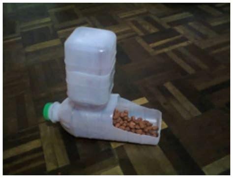 DIY Plastic Bottle Pet Feeder