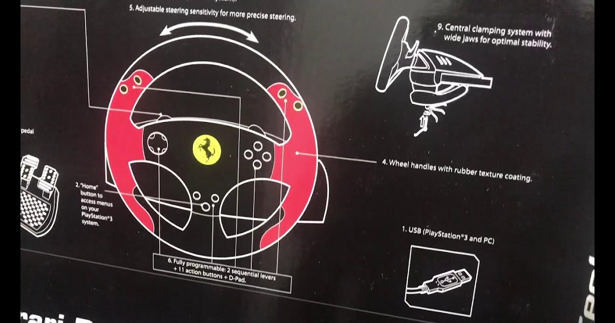 Super Car: Thrustmaster Ferrari Racing Wheel Red Legend ...