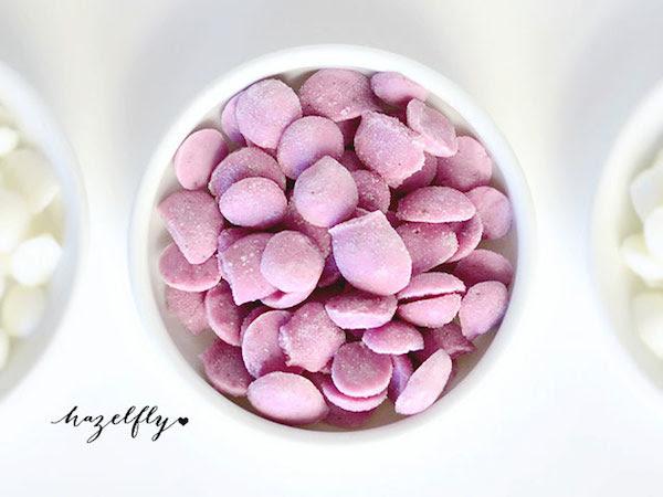 chispas de yogur