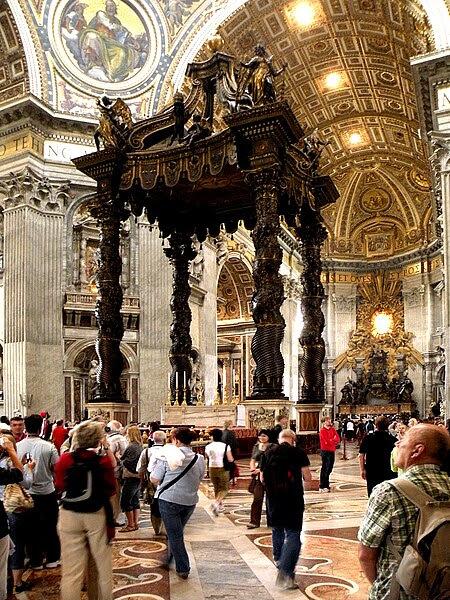 File:Сень над папским алтарём.jpg