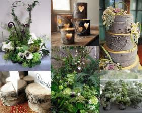 Woodland wedding inspiration   Playing With Flowers