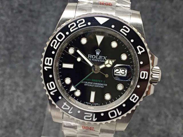 Replica Rolex GMT-Master II 116710LN Black
