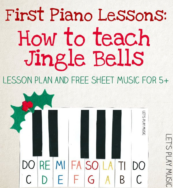 Jingle Bells Very Easy Piano Sheet Music Let S Play Music