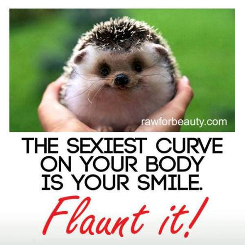 La plus jolie courbe de votre corps est votre sourire :)