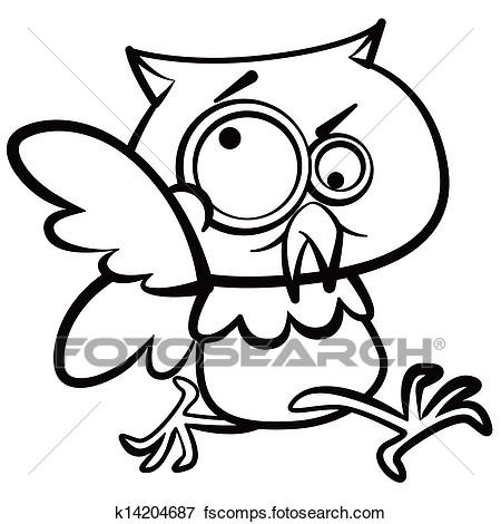 Owl Black And White Clipart Free Download Best Owl Black And White