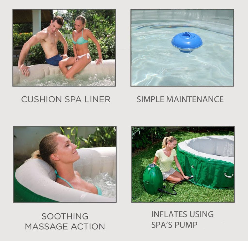 Coleman Lay Z Spa Inflatable Hot Tub Review Best Above Ground Pools