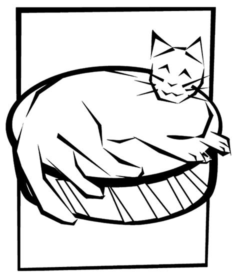 cute cat coloring page crayolacom