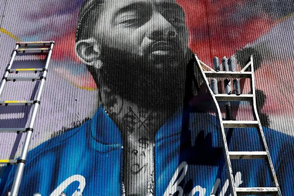 sports shoes 3fe31 93c8f He was an icon  Ethiopians pay tribute to Eritrean-American rapper Nipsey  Hussle