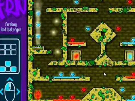 juegos de internet al azar fuego  agua en el templo