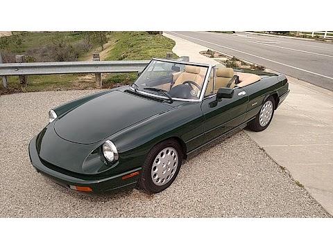 Alfa Romeo Spider California