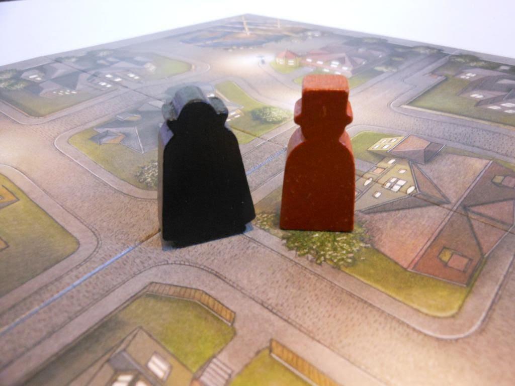 Dracula board game - Dracula and Van Helsin meeples