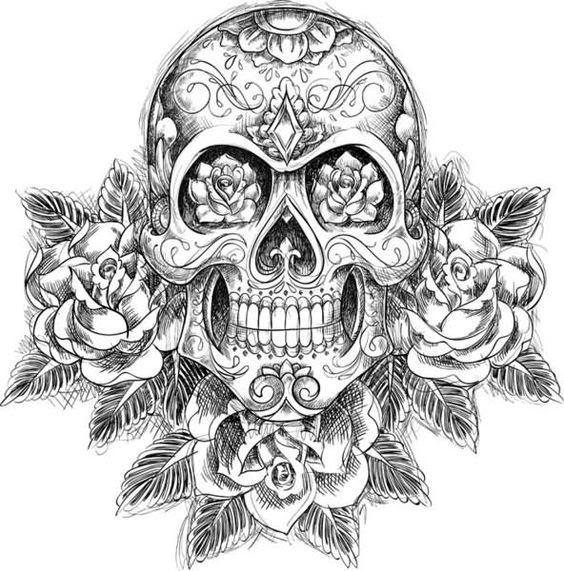 Diseños De Calaveras Para Tatuajes