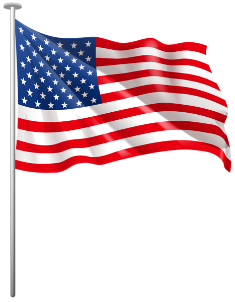 Us flag american flag usa clipart - Clipartix